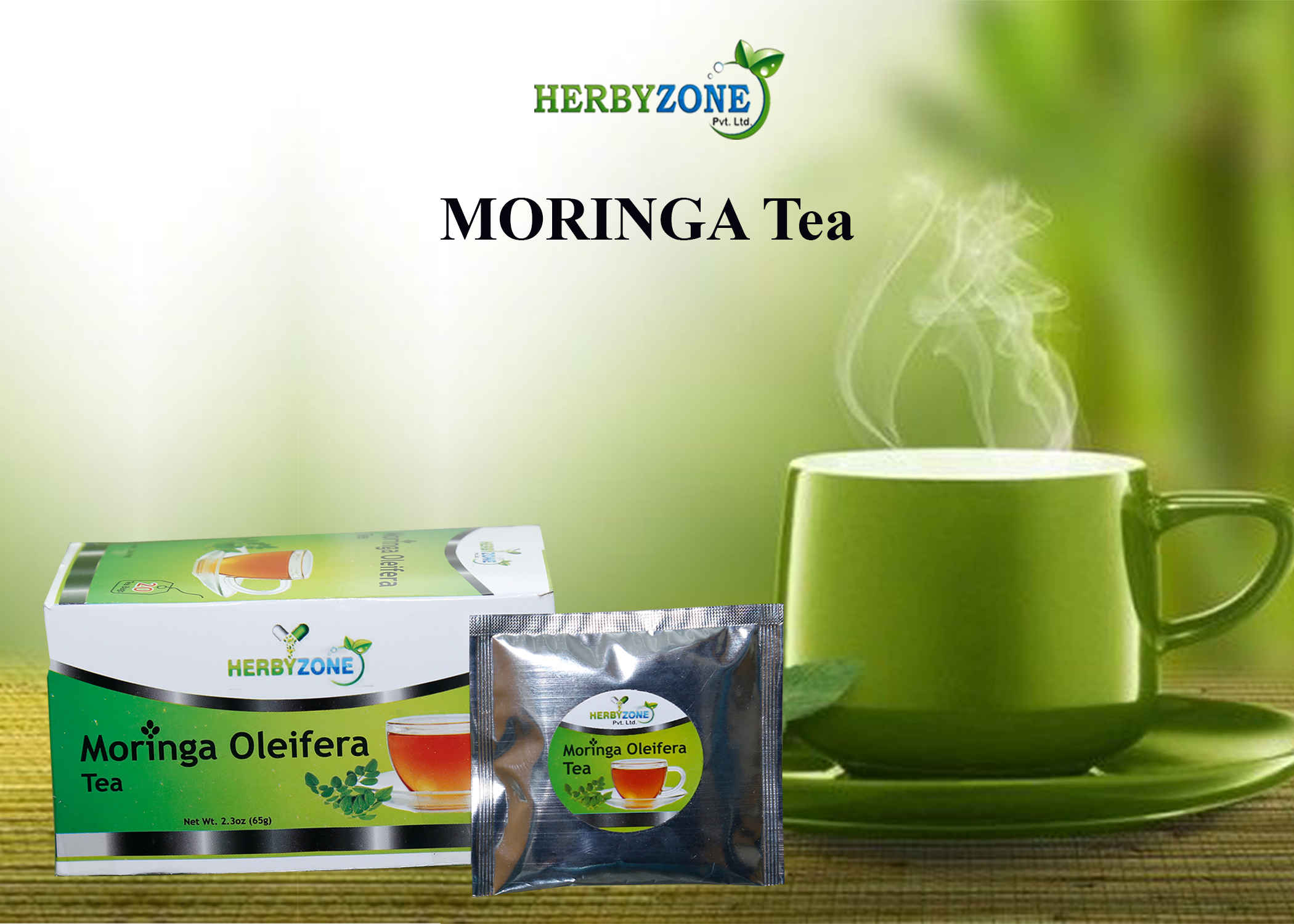 Moringa tea is very effective for control high blood pressure and sugar. Moringa tea boost's immune system.